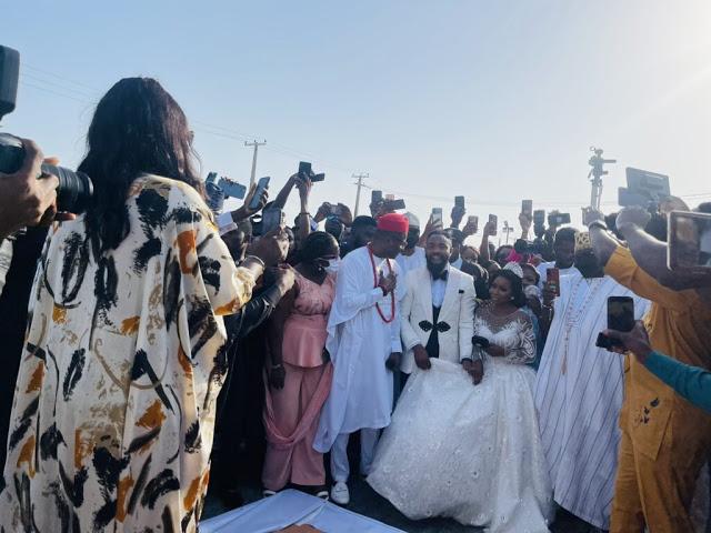 Newly wed comedian, Woli Arole