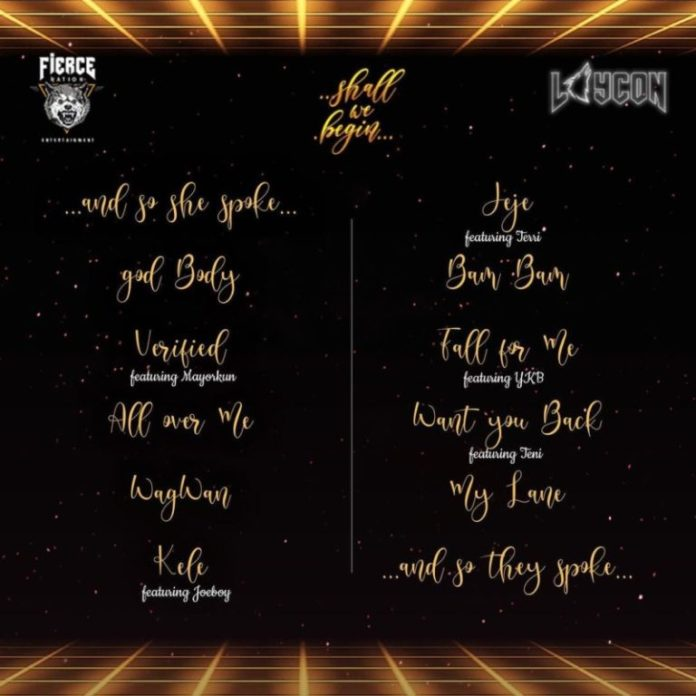 Laycon – Shall We Begin Album Tracklist