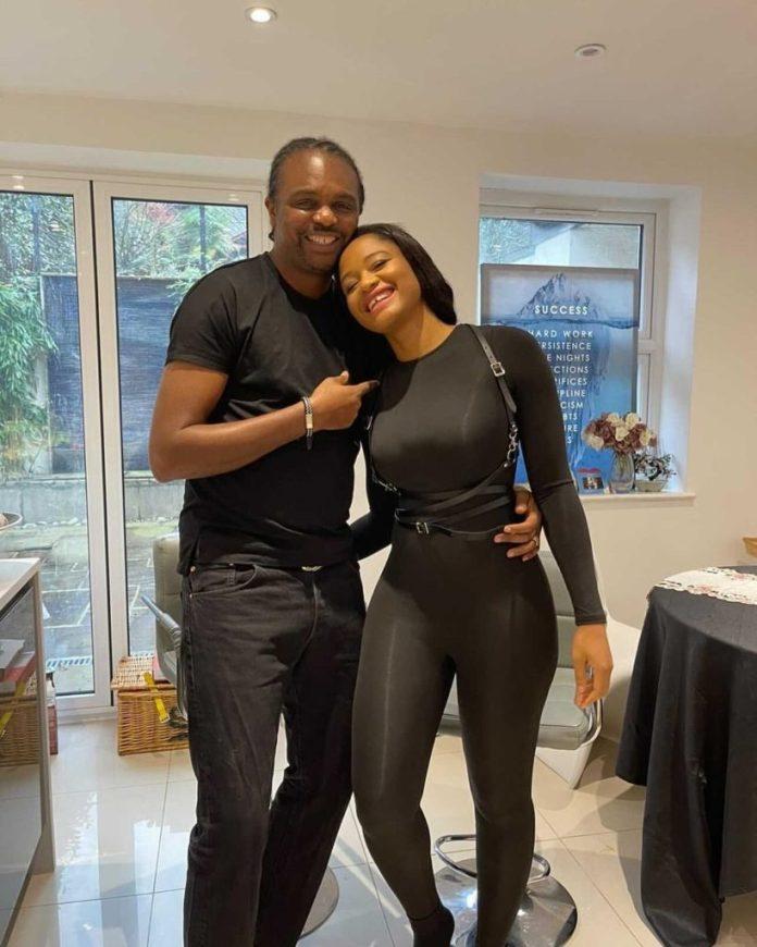 Kanu Nwankwo and his wife