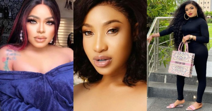 I'm coming for her with full force – Bobrisky vows to deal with Tonto Dikeh as he narrates what she recently did to him (Video)