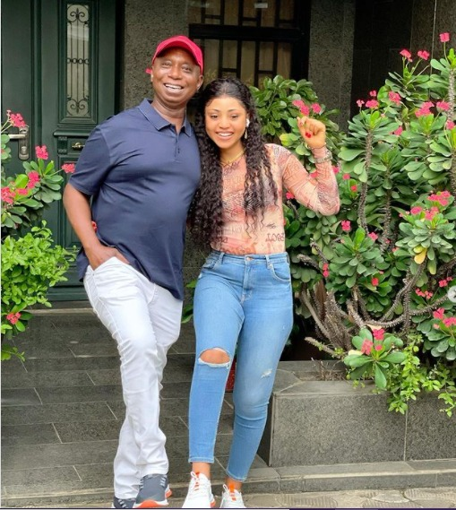 Nollywood actress Regina Daniels has gushed over her billionaire husband, Ned Nwoko saying she's obsessed over his legs.