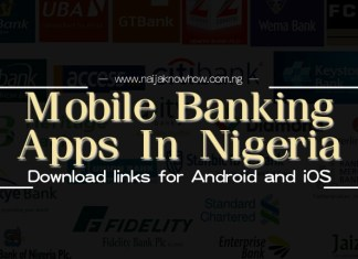 Mobile banking apps in Nigeria