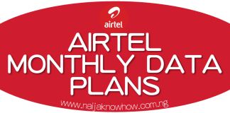 CHEAP AIRTEL MONTHLY DATA PLAN AND SUBSCRIPTION CODES
