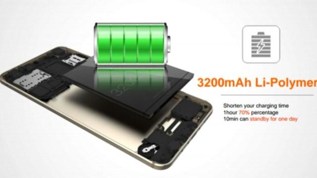 Tecno Camon CX – battery capacity