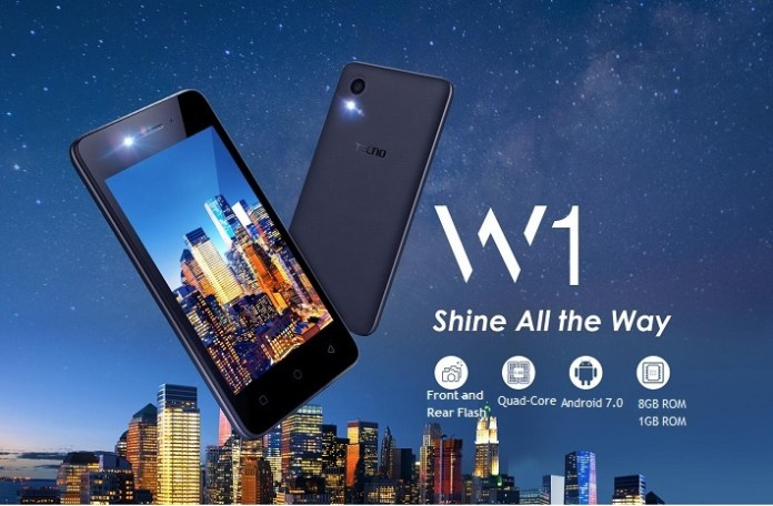 Tecno W1 Android smartphone