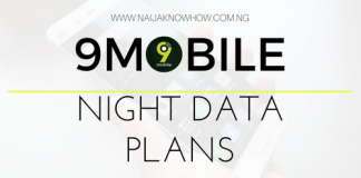 9MOBILE NIGHT BROWSING PLANS