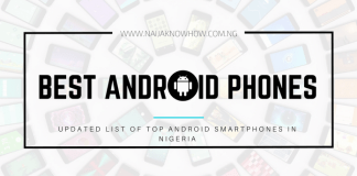 Top Best Android Phones In Nigeria Market