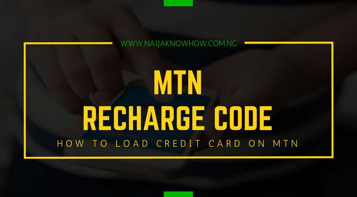 MTN Recharge Code - How To Load Credit Card On MTN Nigeria