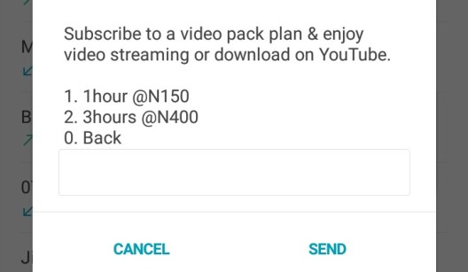 MTN YouTube data plans and subscription codes in Nigeria