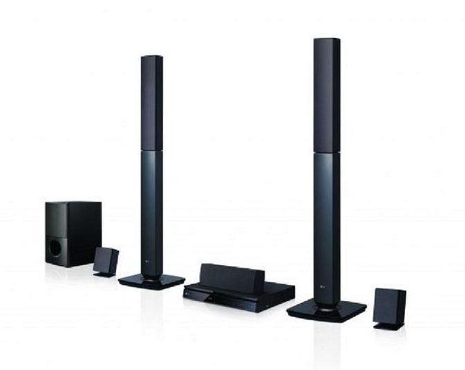 LG Bluetooth 1000W DVD Home Theater LHD647 - LG HOME THEATRE SOUND SYSTEM