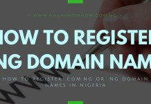 HOW TO BUY .NG DOMAIN - HOW TO REGISTER .COM.NG OR .NG DOMAIN NAMES IN NIGERIA