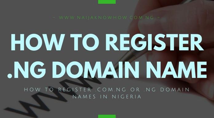 HOW TO BUY .NG DOMAIN - HOW TO REGISTER .COM.NG OR .NG DOMAIN NAMES IN NIGERIA
