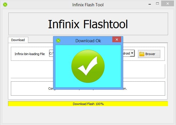 How To Use Infinix Flash Tool To Flash ROM on Mediatek Devices on PC