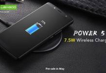 7000mAh LEAGOO Power 5 will support 7.5W Wireless Charge !