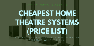 CHEAPEST HOME THEATRE SYSTEMS IN NIGERIA_PRICE LIST