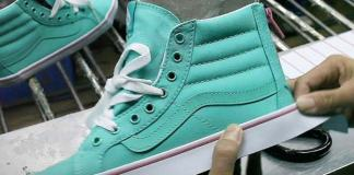 vans shoe making
