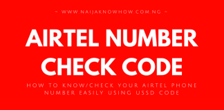 How to know my airtel number archives naijaknowhow how to check airtel phone number ccuart Gallery