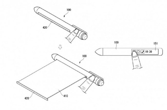 LG Smart Stylus Pen With Two Flexible Screen Leaks