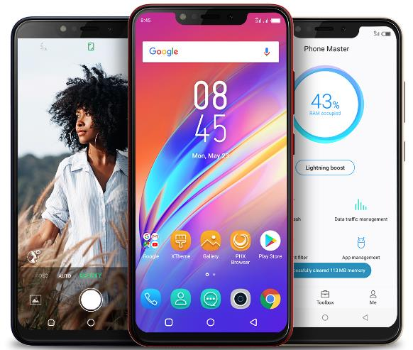 Infinix Hot 6X Design