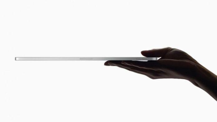 iPad Pro hand 5mm