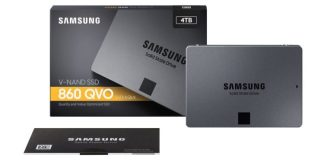 Samsung 860 QVO SSD