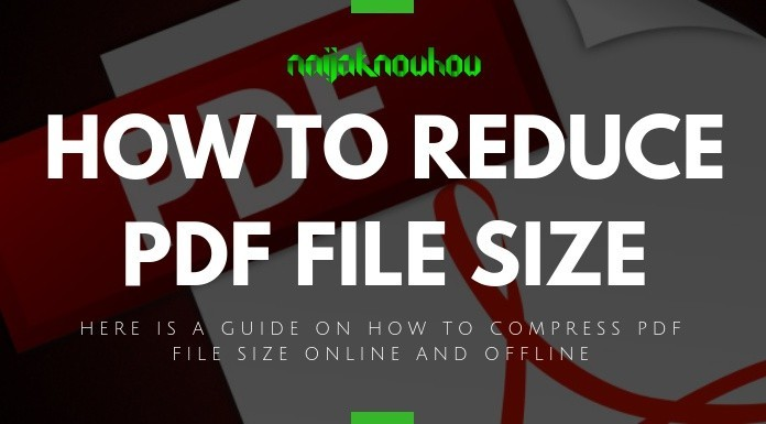 HOW TO REDUCE PDF FILE SIZE ONLINE AND OFFLINE