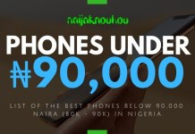 BEST PHONES UNDER 90000 NAIRA IN NIGERIA