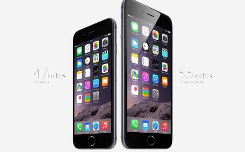 iPhones 6 and 6+