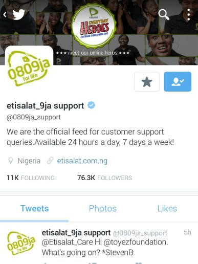 The Fastest Way To Contact MTN, Glo, Etisalat or Airtel