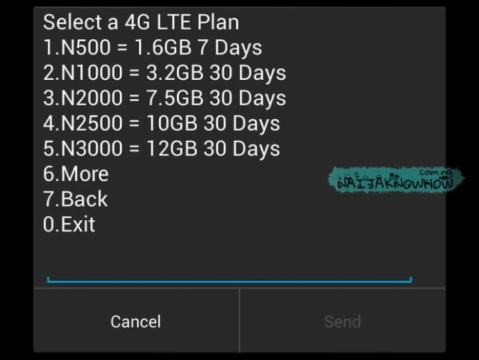 Glo 4G LTE | Data Plans
