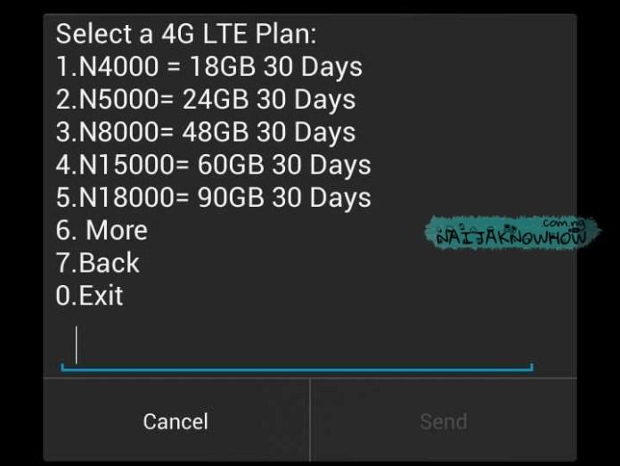 Glo 4G LTE | List of 4G Data Plans