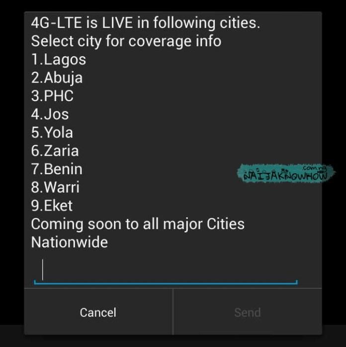 Glo 4G LTE | List of 4G locations in Nigeria