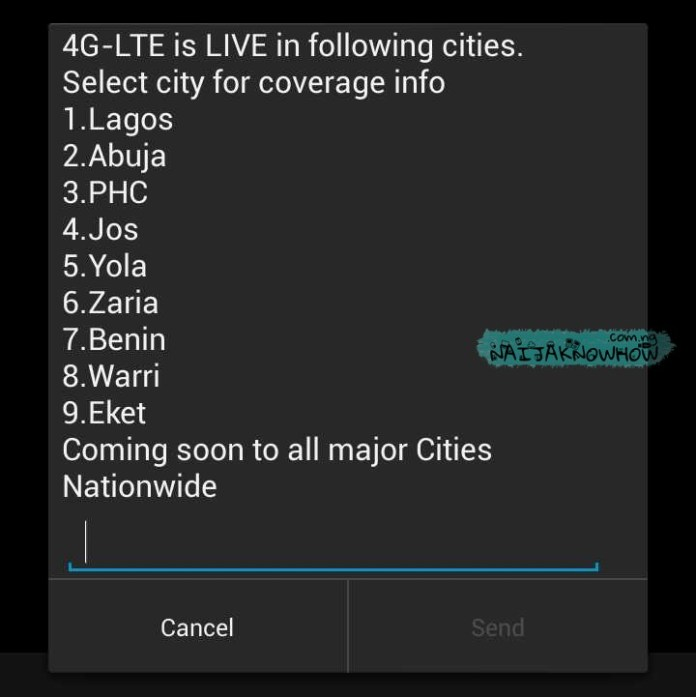 Glo 4G LTE | List of 4G locations in Nigeria