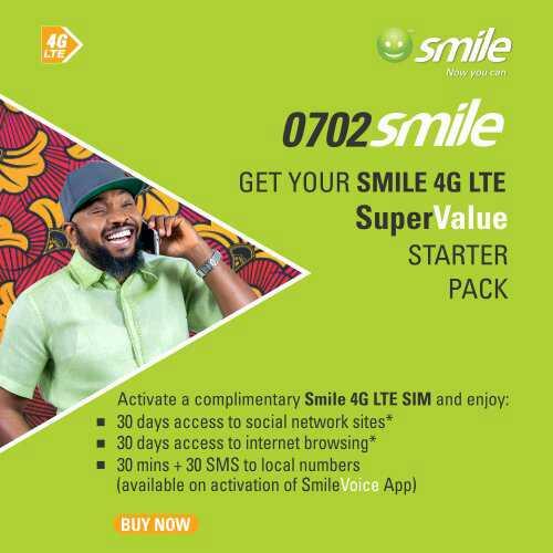 SMILE 4G LTE 0702Smile Sim