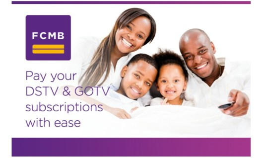 How To Pay DSTV and GOTV Subscriptions With FCMB Online