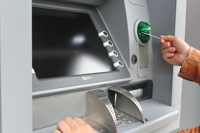 atm cards machines