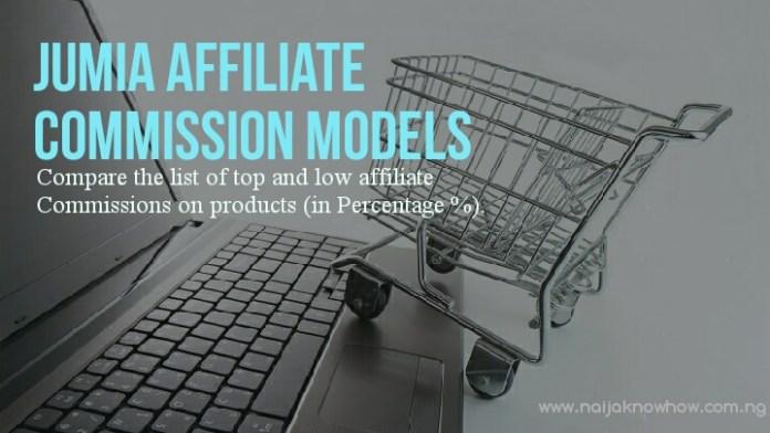 Jumia Affiliate Commission Models
