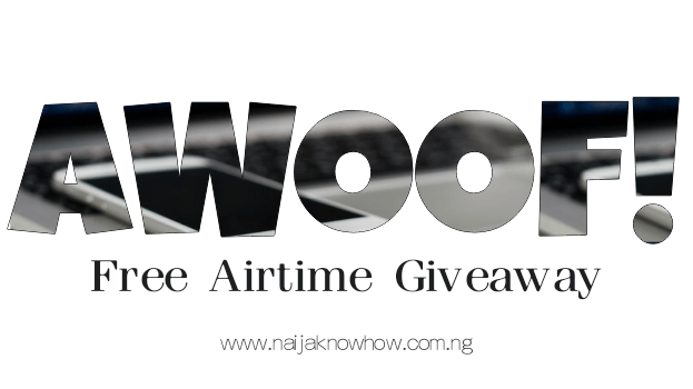 Free airtime giveaway