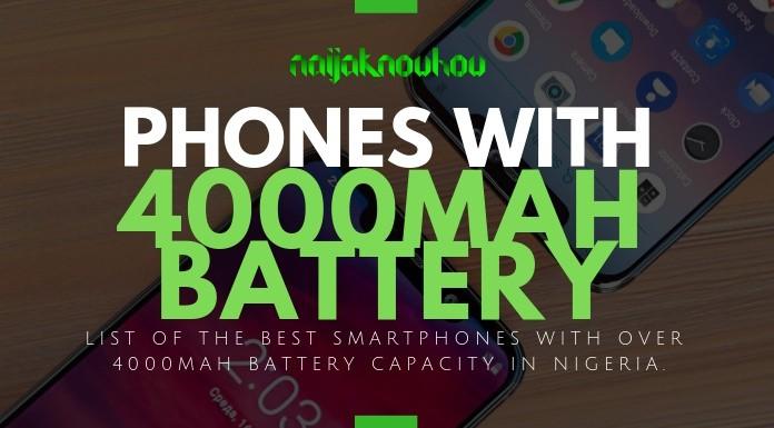 BEST PHONES WITH 4000MAH BATTERY CAPACITY