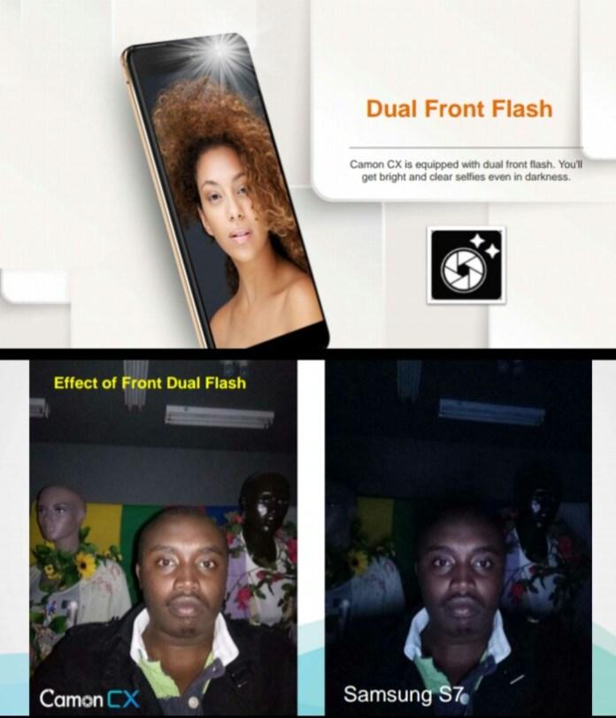 Camera Test: TECNO Camon CX vs Samsung S7