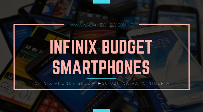 BEST INFINIX PHONES BELOW 50000 NAIRA IN NIGERIA