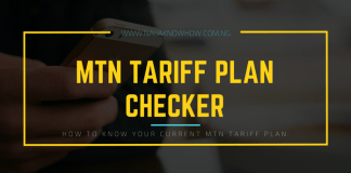 How to check MTN tariff plan in Nigeria