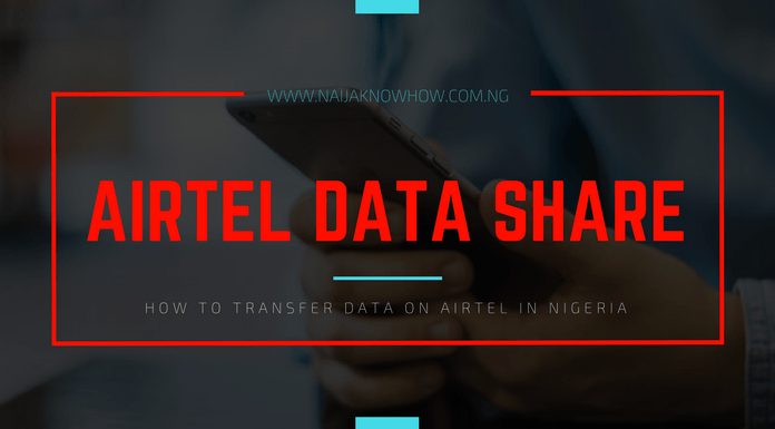 how to share data on airtel in nigeria