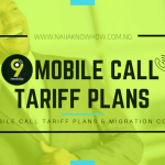 9MOBILE CALL TARIFF PLANS AND MIGRATION CODES