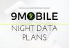 9MOBILE NIGHT BROWSING PLANS