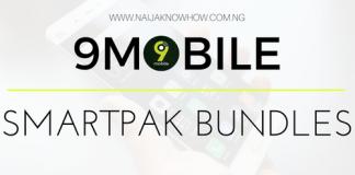 9MOBILE SMARTPAK BUNDLES