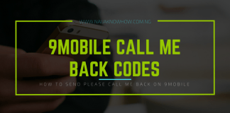 How To Send Call Me Back On 9Mobile (USSD Code)