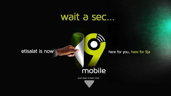 9Mobile New banner