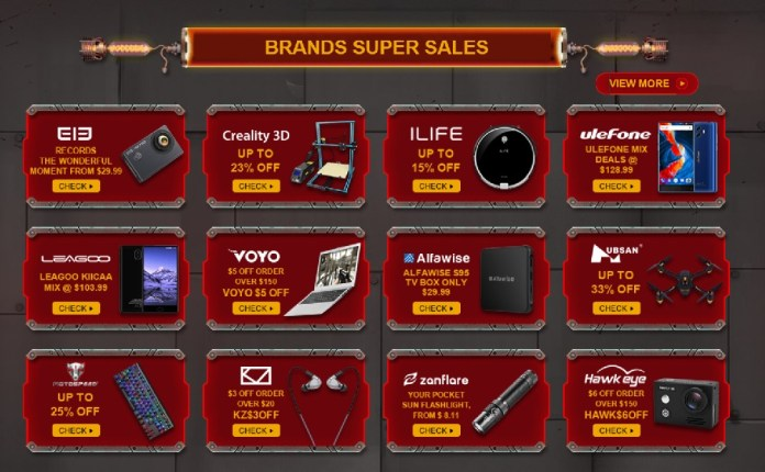 Gearbest Brand Super Deals