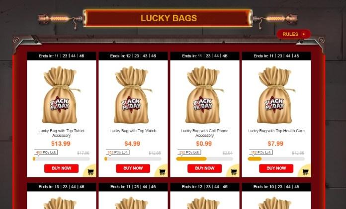 Gearbest lucky bag deals